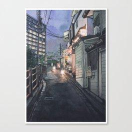 Tokyo at Night #10 Canvas Print