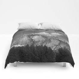 Half-Dome B&W Comforters