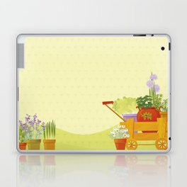Flowers and Herbs Laptop & iPad Skin