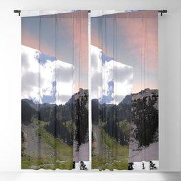 Mountains seasons Blackout Curtain