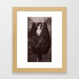 Dark Victorian Portrait: The Venus Framed Art Print