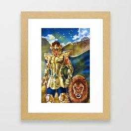 Aioria Framed Art Print