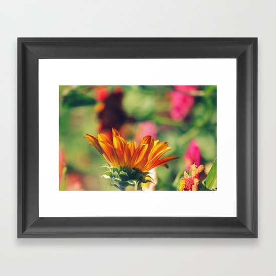 Sweet Flower of Mine Framed Art Print