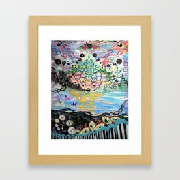 OSMOSIS Framed Art Print