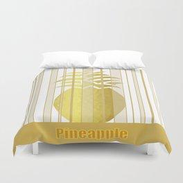 Lavish Pineapple Duvet Cover