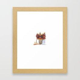 JujuPop Framed Art Print
