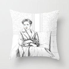 The Woman Throw Pillow
