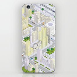 uchi village part 1 iPhone Skin
