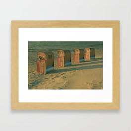 The lonesome four Framed Art Print