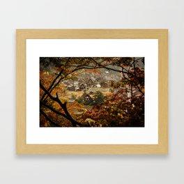 Shirakawago Framed Art Print