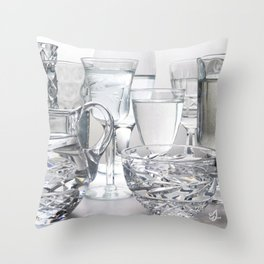 Clean Water Throw Pillow