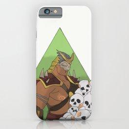 I Will Crush You - Shao Kahn  iPhone Case