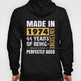 Made in 1974 - Perfectly aged Hoody