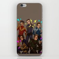 kendrawcandraw iPhone & iPod Skins featuring Superlads by kendrawcandraw