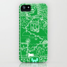 URSA VERDE iPhone Case