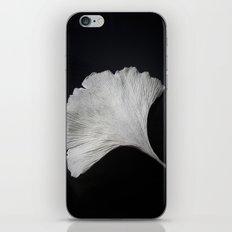 Ginkgo on black iPhone & iPod Skin