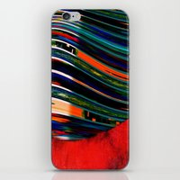 rave iPhone & iPod Skins featuring Rave by Neelie