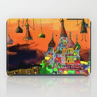 moscow iPad Cases featuring Moscow  by sladja