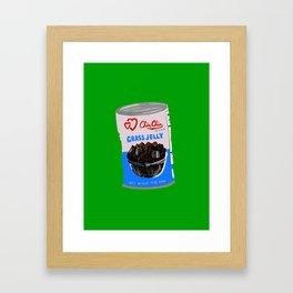 Grass Jelly Framed Art Print