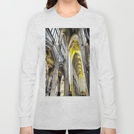 Bath Abbey Art Long Sleeve T-shirt