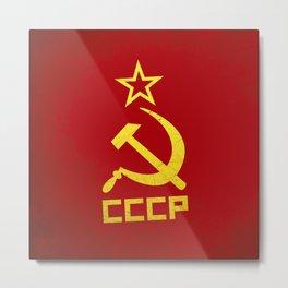 CCCP Metal Print