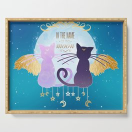 In the name of the moon Serving Tray