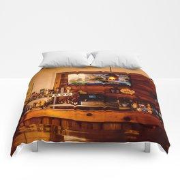 Bar in the Keys Comforters