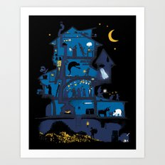 Wizard's Castle Art Print