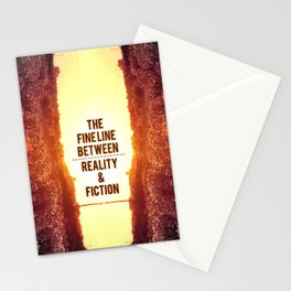 The fine line. Stationery Cards