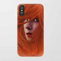 redhead iPhone & iPod Cases featuring redhead by Nuria Mrtz. FotoArt