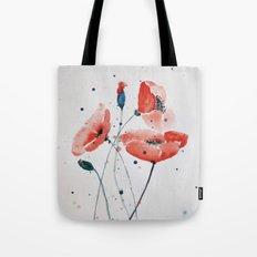 Poppies no 2 Tote Bag