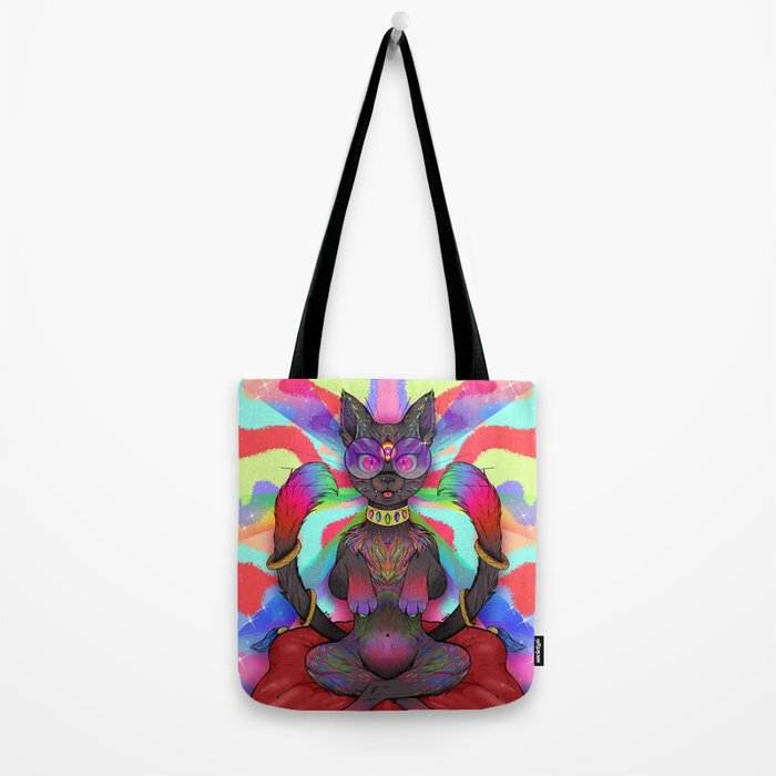 Psychedelic Happiness Tote Bag