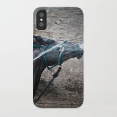 Horse iPhone X Slim Case
