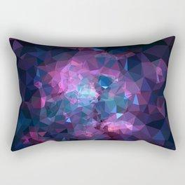 Galaxy Low Poly 45 Rectangular Pillow