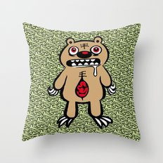 ZOMBEAR Throw Pillow