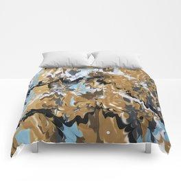 Golden Calypso Comforters