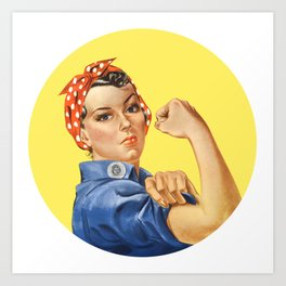 We Can Do It Rosie the Riveter Art Print