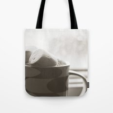 sunday hot chocolate.  Tote Bag