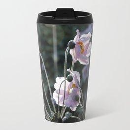 Bokeh Outline Bloom Travel Mug