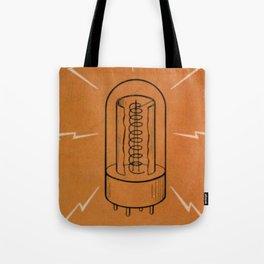 Vintage Vacuum Tube Tote Bag
