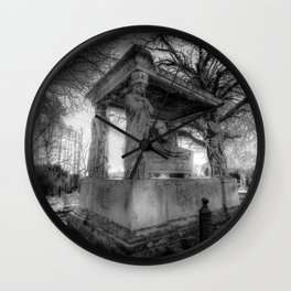 Kensal Green Cemetery London Wall Clock