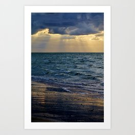 Blessed Sea Art Print