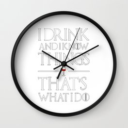 Game of ThronesThat's What Wall Clock