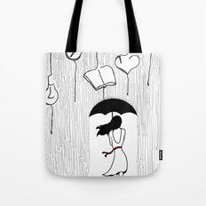 RAINY THOUGHTS Tote Bag