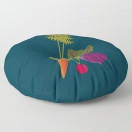 Vegetable Medley Floor Pillow