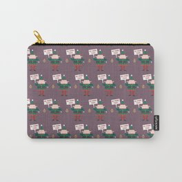 Little Helpers on Strike (Patterns Please) Carry-All Pouch