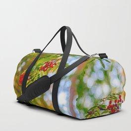 Bunches of rowan berries Duffle Bag