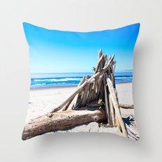 Drift wood Fort Throw Pillow