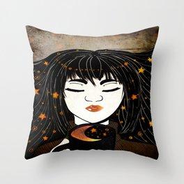 Taste of Stardom Throw Pillow