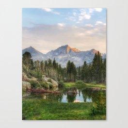 The Eastern Sierras Canvas Print